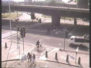 Bridge Road crossings under Hammersmith Flyover