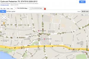 TfL STATS19 Map