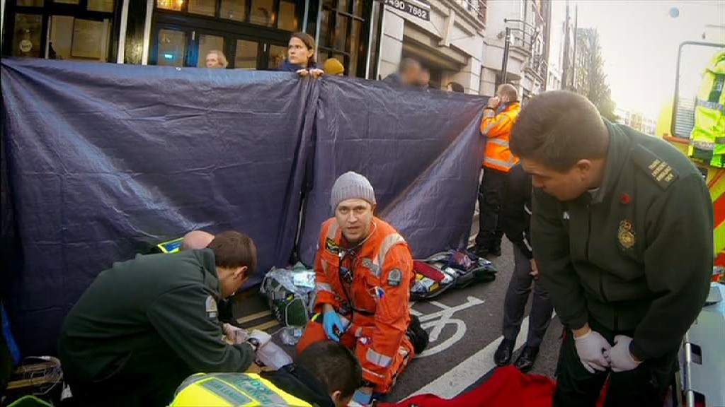 An Hour To Save Your Life - s2e3 - Victoria Lebrec, hit by an HGV at Clerkenwell Road/St John Street