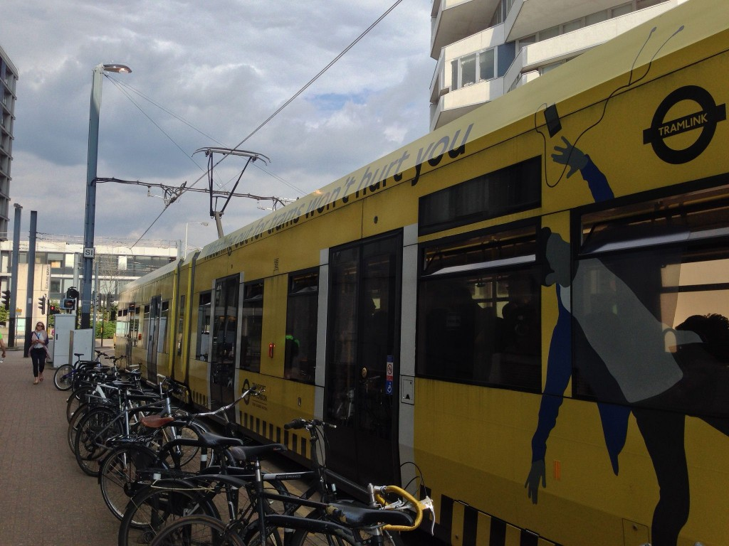 Watching out for trams won't hurt you