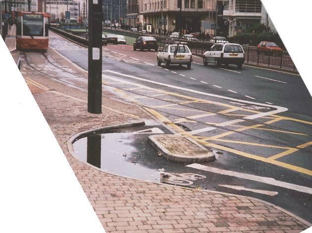 Wellesley Road Pre-2002 from Crap Cycle Lanes of Croydon